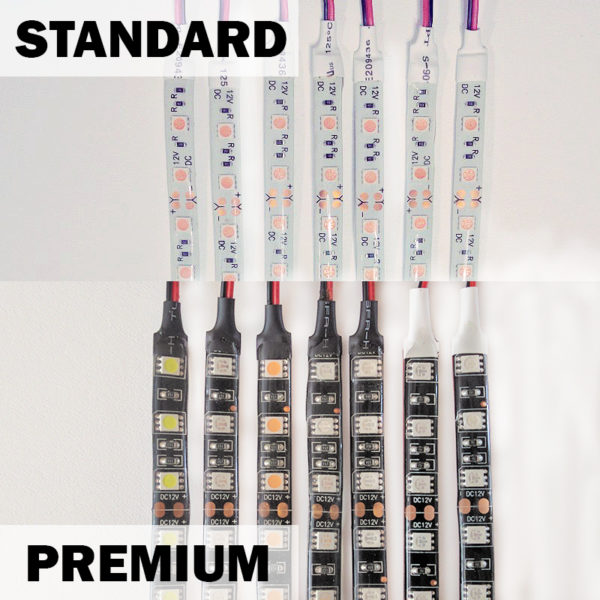 Premium LED Strips vs Standard LED Strips
