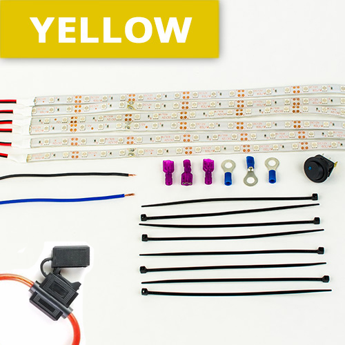 yellow-color-led-motorcycle-lights-kit